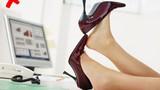 Mẹo hay tránh chân cho cô nàng đi giày cao gót suốt cả ngày