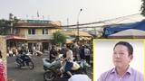 """Xã hội đen """"trấn lột"""" ở chợ Long Biên: Tạm ngừng thu tiền bốc dỡ hàng hóa"""