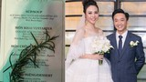 """Thực đơn tiệc cưới toàn """"sơn hào hải vị"""" của Đàm Thu Trang và các sao Việt"""