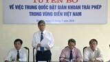 Liên hiệp các Hội KH&KT VN phản đối giàn khoan TQ phi pháp