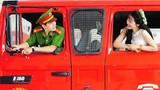 Chuyện tình đẹp của cô dâu xứ Nghệ và anh lính cứu hỏa
