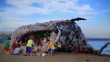 """Cá voi """"khủng"""" chết thảm, ai cũng sốc khi thấy thứ trong miệng nó"""