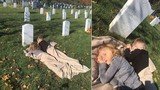 Hai đứa trẻ nằm cố thủ ở nghĩa trang và sự thật đau lòng