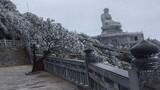 Ngỡ ngàng băng giá xuất hiện ở Lào Cai