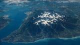 Kinh ngạc vườn quốc gia kỳ vĩ của Mỹ nhìn từ trên cao