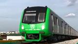 Video: Đoàn tàu Cát Linh - Hà Đông lao vun vút trên đường ray