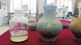 Bí ẩn chất lỏng màu vàng kỳ quái trong mộ cổ thời Tây Hán