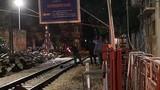 Hà Nội: Nam thanh niên bị tàu đâm tử vong gần phố đường tàu