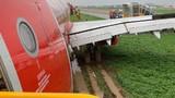 Lập tổ điều tra sự cố máy bay lao ra khỏi đường băng Tân Sơn Nhất