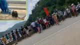 Để lại dép và kính, người phụ nữ nhảy cầu tự tử ở Lào Cai