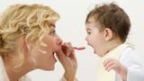 Học cách mẹ đảm luyện con tập nhai