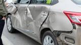 Tắc đường cao tốc kinh hoàng vì ô tô đâm nhau