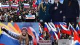 Dân Nga ăn mừng sự trở về của Crimea