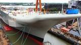 Ấn Độ chính thức hạ thủy tàu sân bay tự chế