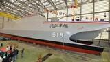 Cận cảnh chiến hạm 2 thân nguy hiểm của Đài Loan