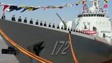Hải quân Trung Quốc biên chế siêu hạm Type 052D đầu tiên