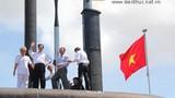 Ấn tượng lễ thượng cờ quốc gia cho 2 tàu ngầm Kilo