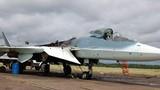 Cận cảnh chiếc siêu tiêm kích Su T-50 cháy nham nhở