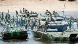 Nể phục công binh Nga đưa xe tăng vượt sông