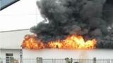 Hải Phòng: Khói lửa bốc cao mù mịt ở KCN Tân Liên