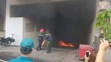 Chung cư Carina Plaza bất ngờ cháy trở lại, người dân chạy tán loạn