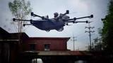 Video: Chàng kỹ sư trẻ chế tạo thành công xe bay lai drone