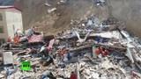 """Video: Sạt lở đất """"cuốn bay"""" 2 tòa nhà ở Trung Quốc"""