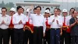 Phát lệnh thông xe đường cao tốc dài nhất Việt Nam