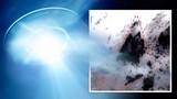 Vật thể to ngang hòn đảo nghi UFO trồi lên từ Thái Bình Dương?