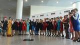 Trình diễn thời trang tiếp viên hàng không ở Moscow