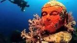 Thế giới kinh ngạc về ngôi đền bí ẩn dưới đáy biển