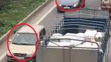 Xử phạt tài xế chạy xe ngược chiều trên cao tốc HN - Bắc Giang