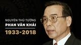 Nguyên Thủ tướng Phan Văn Khải và dấu ấn khó phai trong lòng nhân dân