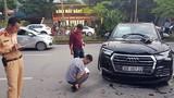 Audi Q5 gây tai nạn kinh hoàng trên đường Hà Nội