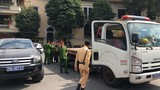"""Công an """"trảm"""" nhiều bãi xe không phép """"chặt chém"""" khách ở Hà Nội"""