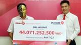 Người đàn ông nuôi tôm ở Cà Mau trúng số độc đắc 44 tỷ đồng