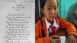 Học sinh tiểu học viết chữ đẹp như in mẫu