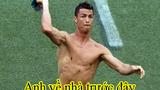 Ảnh chế Ronaldo bất lực... ngậm ngùi về nước