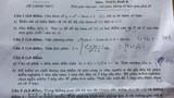 Đề thi, gợi ý cách giải môn Toán khối B, D 2014