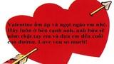 Những lời chúc Valentine cảm động, ý nghĩa nhất