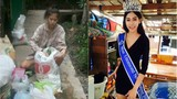 Tâm sự của cô gái nhặt rác một bước trở thành hoa hậu