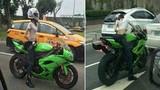 Nữ biker bí ẩn quyết không lộ mặt khiến fan bị kích thích
