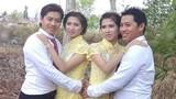 Chị em sinh đôi cưới anh em sinh đôi cùng ngày ở Cà Mau