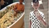 """Chân dung """"thiếu gia"""" Việt tắm tiền trong bồn gây tranh cãi"""