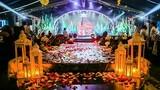 Đám cưới dựng rạp 2 tỷ, 3000 khách ở Đông Anh gây sốc