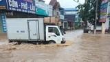 Sơn La: Ảnh hưởng cơn bão số 3 nhiều nơi chìm trong biển nước
