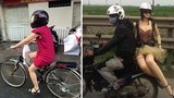 Thượng đế cũng phải cười với những kiểu đi đường ở Việt Nam