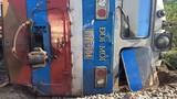 Tàu hỏa lật sau va chạm với ôtô, phó trưởng tàu thiệt mạng