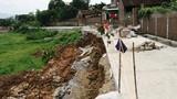 Cận cảnh đường tiền tỷ chưa xây xong đã đổ sụp ở Hà Nội