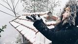"""""""Náo nức"""" vì tiểu kỷ băng hà khiến mùa đông HN có tuyết?"""